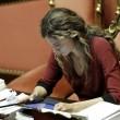 Marianna Madia guarda iPad, Nitto Palma s'infuria e straccia intervento FOTO 2