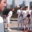 Roma, Francesco Totti prende in giro Ashley Cole: in disparte (FOTO)