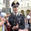 Napoli, corteo per Davide Bifolco. Carabiniere si toglie il cappello 12