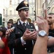 Napoli, corteo per Davide Bifolco. Carabiniere si toglie il cappello 13