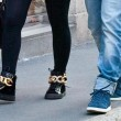 Wanda Nara e Mauro Icardi, shopping a Milano06