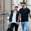 Wanda Nara e Mauro Icardi, shopping a Milano09