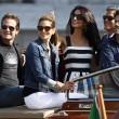 George Clooney e Amal Alamuddin sul Canal Grande di Venezia01
