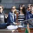 George Clooney e Amal Alamuddin sul Canal Grande di Venezia26