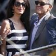 George Clooney e Amal Alamuddin sul Canal Grande di Venezia23