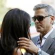 George Clooney e Amal Alamuddin sul Canal Grande di Venezia22