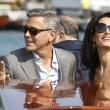 George Clooney e Amal Alamuddin sul Canal Grande di Venezia16