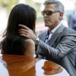 George Clooney e Amal Alamuddin sul Canal Grande di Venezia15