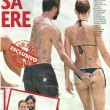 Claudia Pandolfi, topless al mare. Le vacanze hot a Miami 2