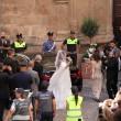 Nozze Canalis-Perri, un bagno di folla nella sua Alghero