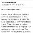 """""""Beyoncé fa gli anni, non vengo a lezione"""": studente scrive mail alla prof..."""