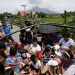 Filippine, vulcano Mayon si risveglia09