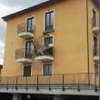 L'Aquila, crolla balcone della casa per terremotati01