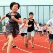 Cina, pista d'atletica sul tetto della scuola02