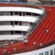 Cina, pista d'atletica sul tetto della scuola3