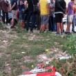 Napoli, ignora l'alt. Carabiniere uccide 17enne. Folla distrugge auto polizia02