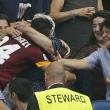 Roma-Cagliari, Florenzi segna e abbraccia la nonna 05