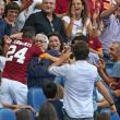 Roma-Cagliari, Florenzi segna e abbraccia la nonna 01