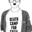 Hitler Hipster, il fumetto che ascolta i Death Camp for Cutie 01