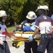 Fernando soccorso dai medici