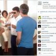 Matteo Renzi prova i Google Glass03