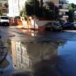 Roma, si rompe una tubatura: allagamenti a Primavalle e Monte Mario 03