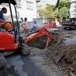 Roma, si rompe una tubatura: allagamenti a Primavalle e Monte Mario 02