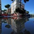 Roma, si rompe una tubatura: allagamenti a Primavalle e Monte Mario 01