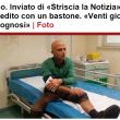 Striscia la Notizia, Luca Abete aggredito a Sarno (Salerno) FOTO