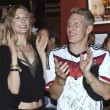 Bastian Schweinsteiger e Ana Ivanovic mano nella mano: la foto scoop della Bild2
