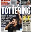 Francesco Totti, in Inghilterra i tabloid esaltano il capitano della Roma FOTO