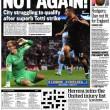 Francesco Totti, in Inghilterra i tabloid esaltano il capitano della Roma 1