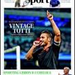 Francesco Totti, in Inghilterra i tabloid esaltano il capitano della Roma 12