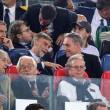 Roma-Bayern: Antonio Conte e Padre Georg in tribuna insieme 07