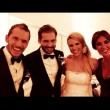Michelle Hunziker e Tomaso Trussardi sposi, le foto sui social