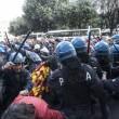Operai Ast di Terni, scontri a Roma017