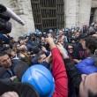Operai Ast di Terni, scontri a Roma018