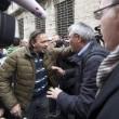 Operai Ast di Terni, scontri a Roma012
