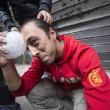 Operai Ast di Terni, scontri a Roma013