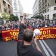 Operai Ast di Terni, scontri a Roma014