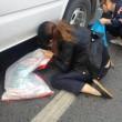granchi scappati dal suv: cinesi li raccolgono anche se c'è il coccodrillo FOTO4