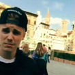Justin Bieber senza casco in motorino a Firenze03