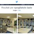 """Spogliatoio Lazio con scritte """"Prima squadra Capitale"""" e """"Aquila è Roma"""" (FOTO)"""