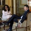 Matteo Renzi incontra Oprah Winfrey a Palazzo Chigi01