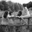 Sexy vogatrici di Warqwick nude nel calendario02