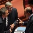 M5S, barricate in Senato e monetine sul governo. Voto a rischio slittament02