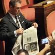 M5S, barricate in Senato e monetine sul governo. Voto a rischio slittamento04