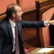 M5S, barricate in Senato e monetine sul governo. Voto a rischio slittamento09