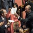 M5S, barricate in Senato e monetine sul governo. Voto a rischio slittamento14