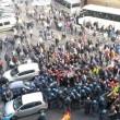 Operai Ast di Terni, scontri a Roma01